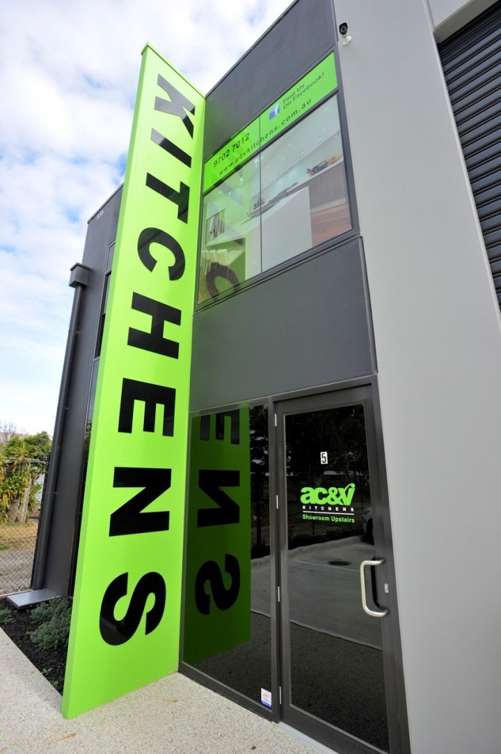 AC V Kitchens Factory and Showroom, Kitchens Melbourne
