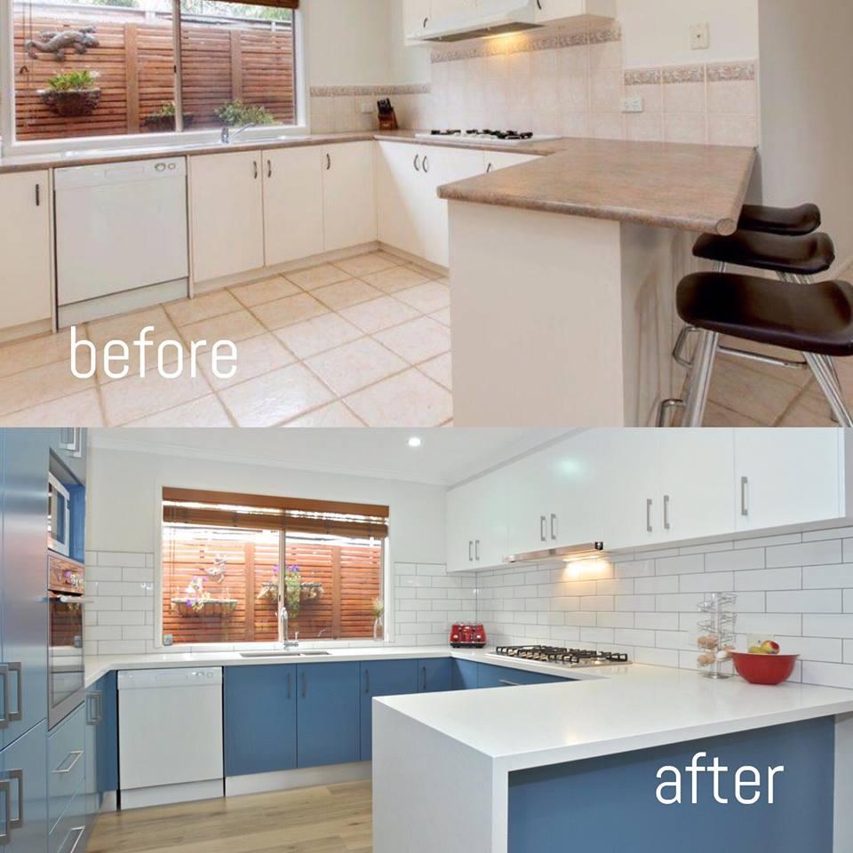 AC&V Kitchens Melbourne Before & After, New Kitchen