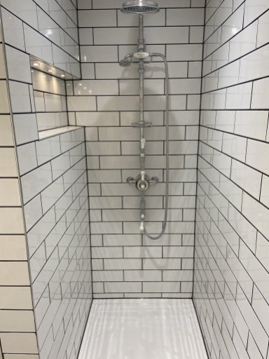 black white tiled bathroom huntingdon