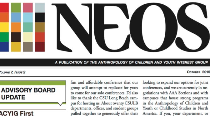 Neos October 2015 Issue Now Available!