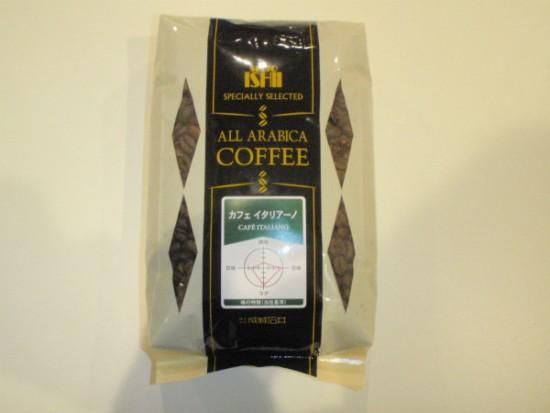 成城石井オリジナルのコーヒー豆。品種はカフェイタリアーノ。