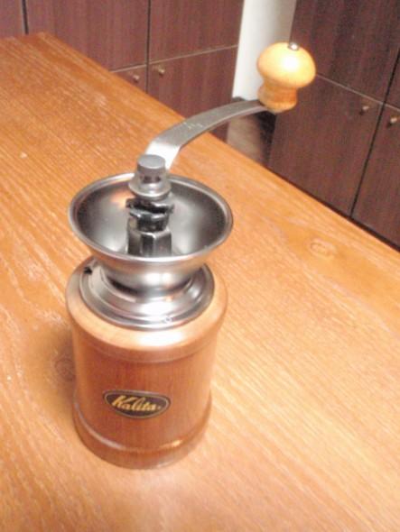 kalitaコーヒーミルkh-3のコーヒー投入口