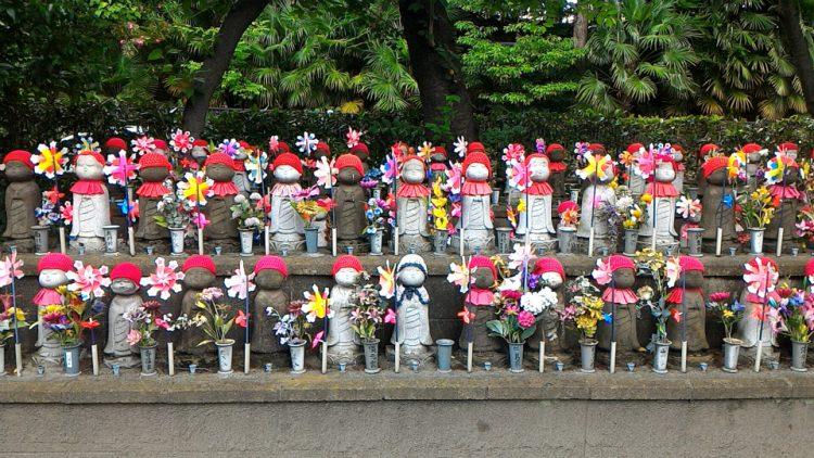 増上寺にあるお地蔵さん