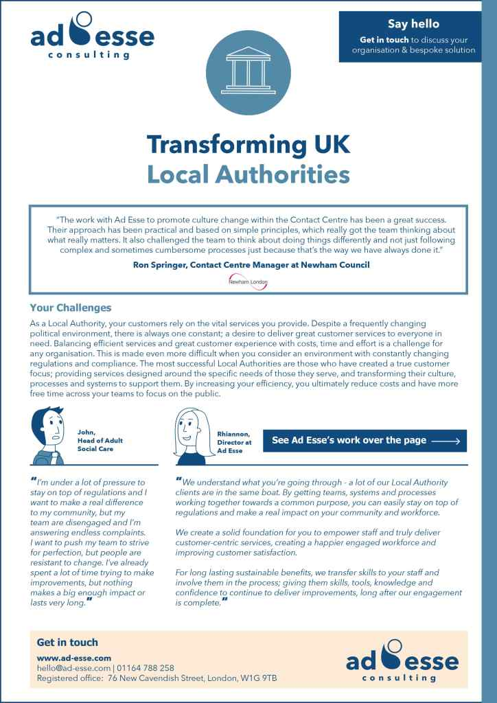 Transforming UK Local Authorities guide