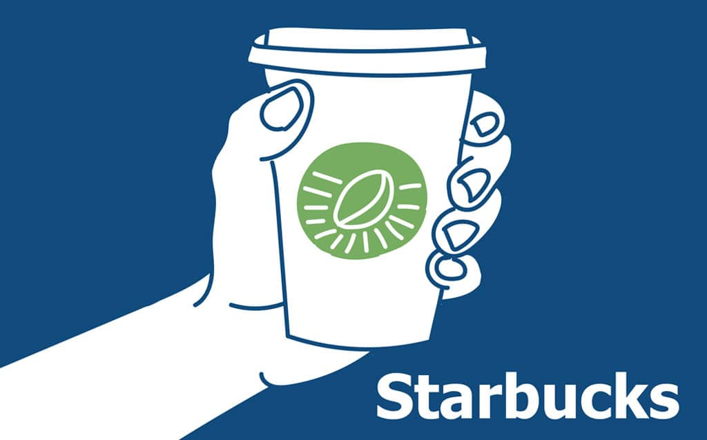 Starbucks cup illustration - Target Operating Model