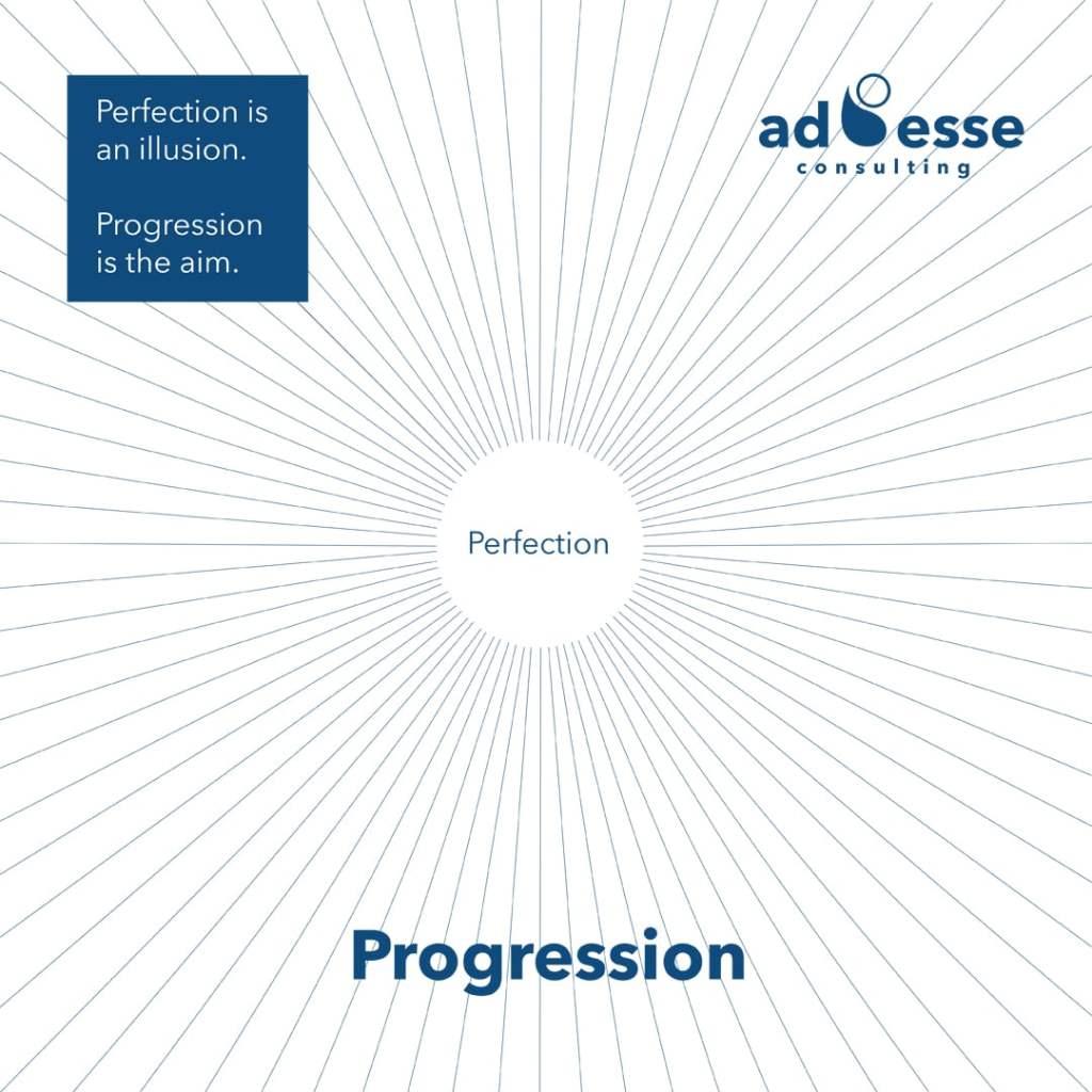 Perfection vs progression Ad Esse Consulting