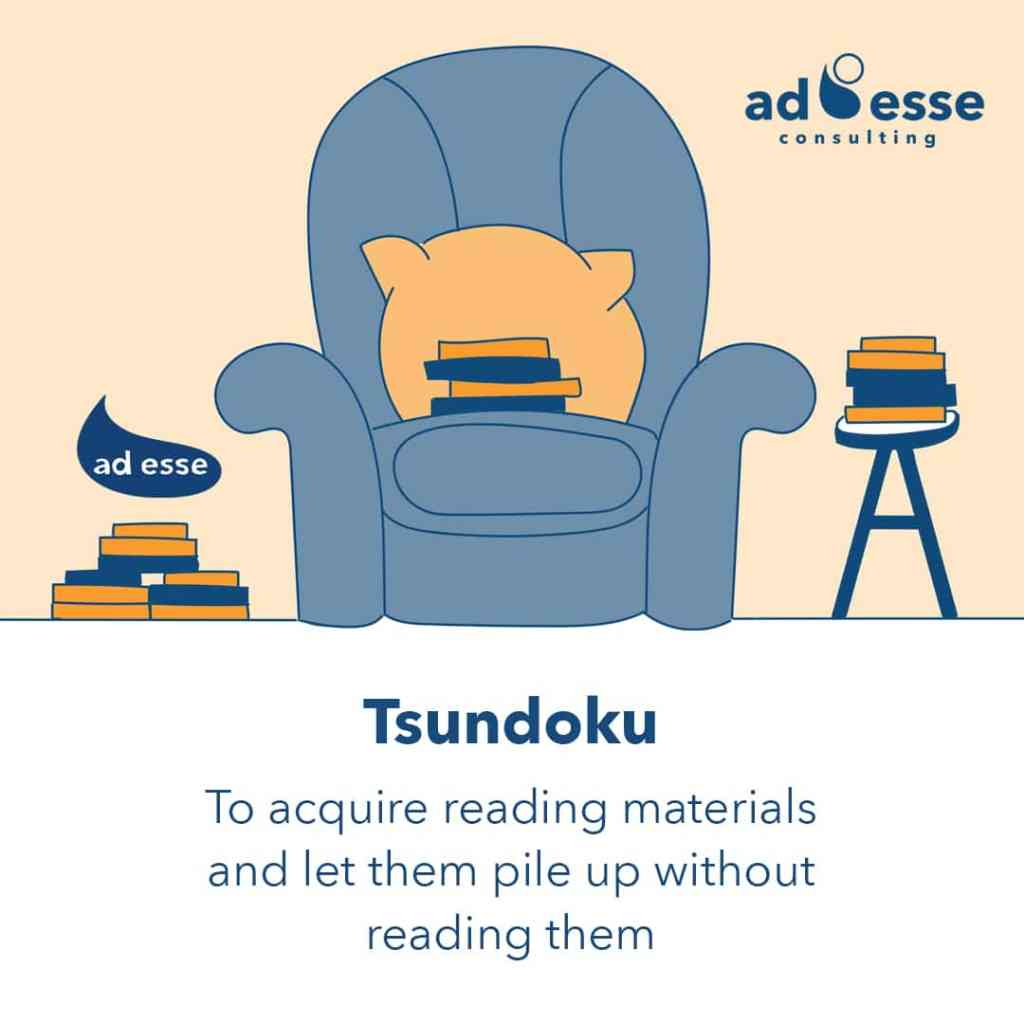 Ad Esse Consulting book lovers tsundoku