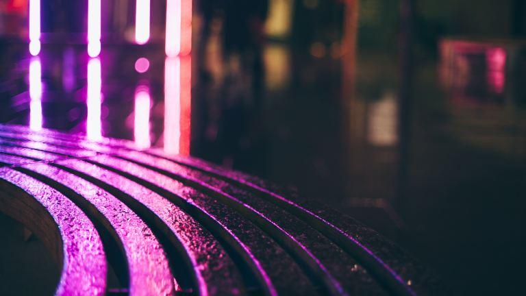 Purple line reflections