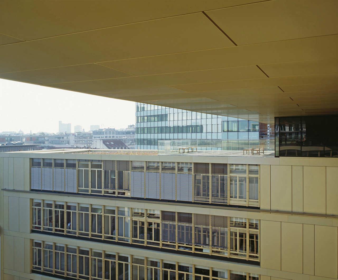 Cr 16 office and residential building blk2 architekten redchalksketch - Buro 13 architekten ...