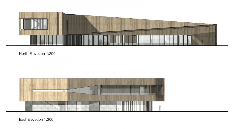 Saltwater Coast Lifestyle Centre / NH Architecture (16) elevations