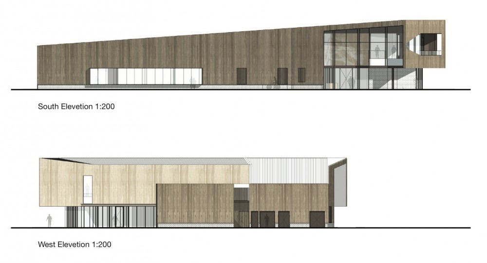 Saltwater Coast Lifestyle Centre / NH Architecture (17) elevations
