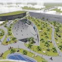 Southwest International Ethnic Culture and Art Center Winning Proposal / Tongji Architectural Design and Research Institute Courtesy of Tongji Architectural Design and Research Institute