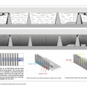 Southwest International Ethnic Culture and Art Center Winning Proposal / Tongji Architectural Design and Research Institute facade diagram. Image Courtesy of Tongji Architectural Design and Research Institute