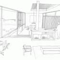 Residência Itahye / Apiacás Arquitetos + Brito Antunes Arquitetura Sketch