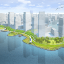 Hunter's Point South Waterfront Park / Thomas Balsley Associates + Weiss Manfredi Render