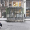 Collective-LOK Wins Van Alen Institute's Ground/Work Competition Street screen . Image Courtesy of Collective-LOK