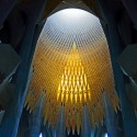 AD Classics: La Sagrada Familia / Antoni Gaudi Tiled vault © Renate Dodell