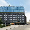 25hours Hotel Vienna  / BWM Architekten © Rupert Steiner