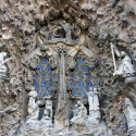 AD Classics: La Sagrada Familia / Antoni Gaudi Detail of the Nativity Facade © Famke Veenstra