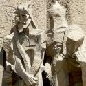 AD Classics: La Sagrada Familia / Antoni Gaudi Passion Facade sculpture © Eugene Zhukovsky