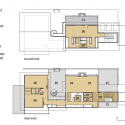 Midvale Courtyard House / Bruns Architecture Plan