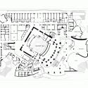 AD Classics: Walt Disney Concert Hall / Frank Gehry Orchestra level plan
