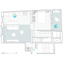 Roc Cube / nook architects Floor Plan 1A