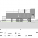 Feldbalz House / Gus Wüstemann Architects North-east Elevation
