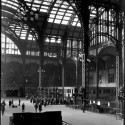 AD Classics: Pennsylvania Station / McKim, Mead & White View toward parcel room. Image © Berenice Abbott - New York Public Library Digital Collection