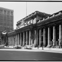 AD Classics: Pennsylvania Station / McKim, Mead & White Facade from Northeast. Image © Cervin Robinson - Historic American Buildings Survey