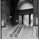 AD Classics: Pennsylvania Station / McKim, Mead & White Stairway from waiting room to arcade. Image © Cervin Robinson - Historic American Buildings Survey