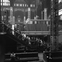 AD Classics: Pennsylvania Station / McKim, Mead & White View of track level, 1958. Image © Nick DeWolf Photo Archive