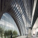 """MAD Breaks Ground on Proposal that Redefines Beijing's """"City Landscape"""" """"Lobby in Air"""". Image © MAD"""