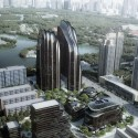 """MAD Breaks Ground on Proposal that Redefines Beijing's """"City Landscape"""" Site. Image © MAD"""