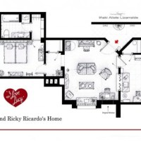Here Are Some Floor Plans from Famous TV Shows!