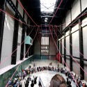 Gia Wolff Transforms the Tate Modern with Canopy of Ropes © John Hartmann (Freecell Architecture)