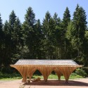 Creation of a Forest Shelter at Bertrichamp / Studiolada Architectes + Yoann Saehr Architect © Nicolas Waltefaugle