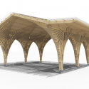 Creation of a Forest Shelter at Bertrichamp / Studiolada Architectes + Yoann Saehr Architect Render