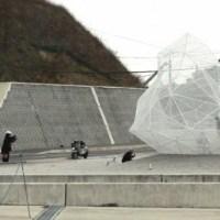 Sou Fujimoto's Polyhedral Naoshima Pavilion Opened in Japan