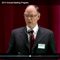 TYPES AND ANTITYPES: Transcript of discourse by David Splane at October 2014 Annual Meeting