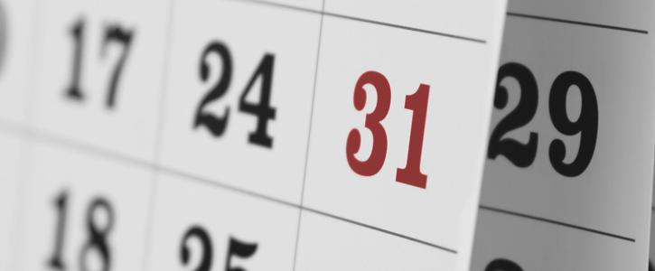 Important dates 2018/2019