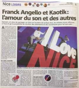Franck dans Nice-Matin (09/12/2016)