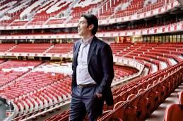 Rang und Namen: Der ehemalige portugiesische Nationalspieler Rui Costa ist heute Sportdirektor
