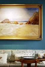 Die Einrichtung des Aqui Há Peixe ist so maritim wie die Speisekarte