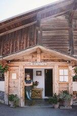 Pilgerstätte: Das Refuge du Calvaire hat leckeren Kuchen und einen idyllischen Biergarten