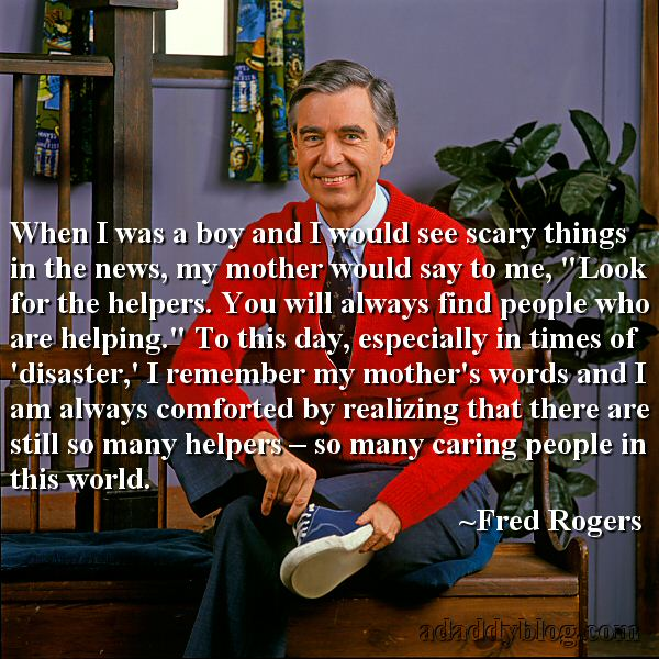 Image result for mr rogers helpers