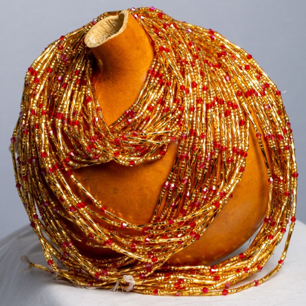 Spiral Gold and Red