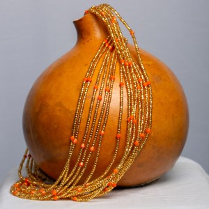 Gold and Orange