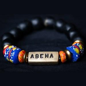 Abena Name Plate