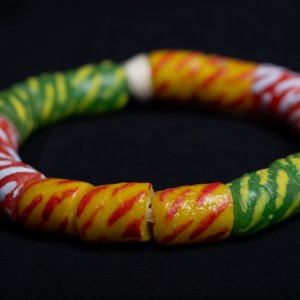 Green, Yellow and Red Bracelet